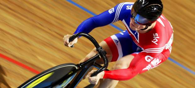 El ciclista británico Chris Hoy