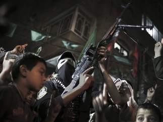 Marcha del brazo armado de Hamás