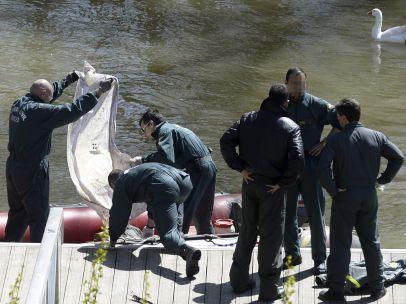 Servicios de rescate en el río Pisuerga