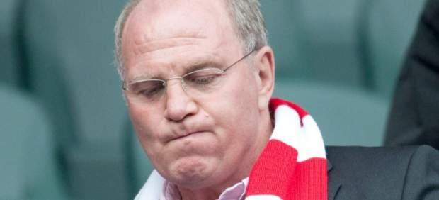 El presidente de Bayern Munich, Uli Hoeness, investigado por presunto fraude
