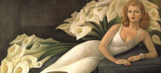 Retrato de la Señora Natasha Gelman (Portrait of Mrs. Natasha Gelman), 1943