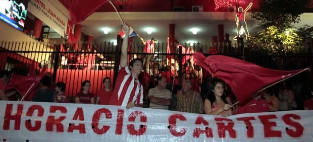 Victoria del Partido Colorado en Paraguay