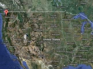 Seattle, en Google Maps.