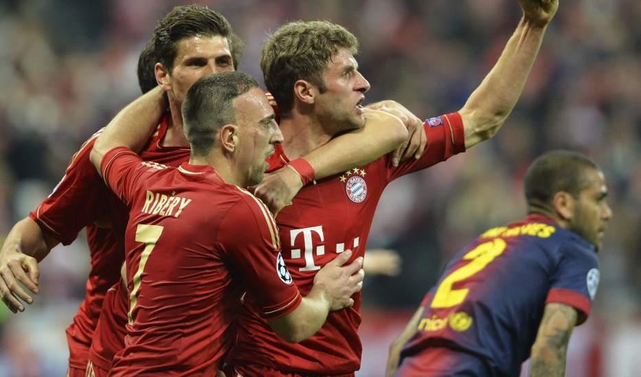 Goles: Barcelona vs Bayern de Munich (4-0)