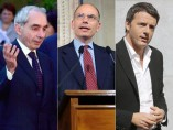 Letta, Amato y Renzi