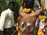 Ritual de la diosa Kali en Bhopal