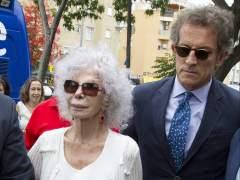 Duquesa de Alba y Alfonso Díez