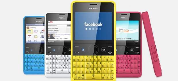 Nokia lanza un 'smartphone' de 79 euros: el Asha 210