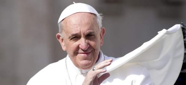 El papa, en la audiencia pública de los miércoles
