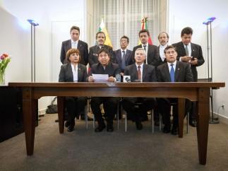 Bolivia demanda a Chile