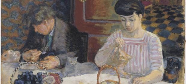 'L'Heure des bêtes : les chats ou Le Déjeuner des bêtes (La famille Terrasse)', 1906