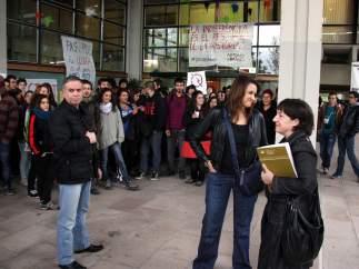 Protesta en la UAB