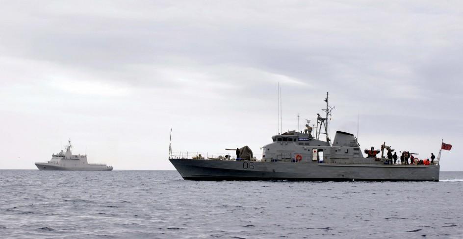 Retienen un buque del Reino Unido en Tenerife