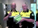 Investigados por fotografiarse con multas