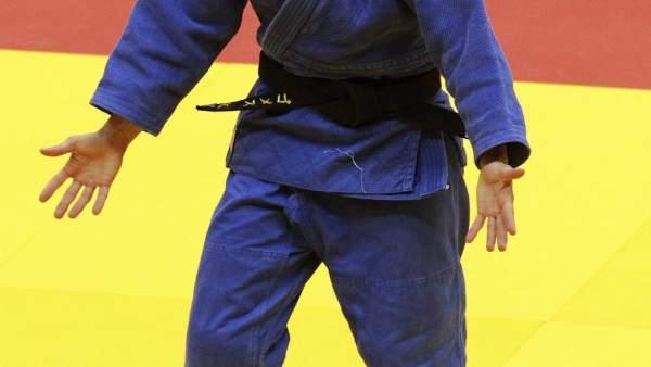 La judoca Laura Gómez