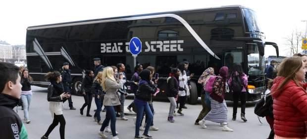 Justin Bieber, bus, european world tour, Believe