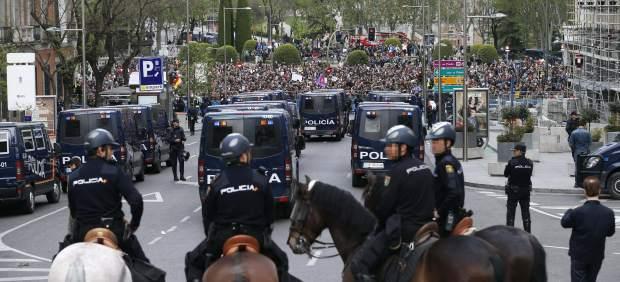 Efectivos de la Policía