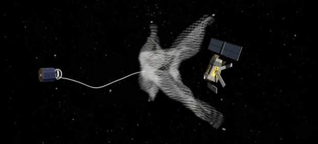 Sistema ideado por la ESA para limpiar la órbita