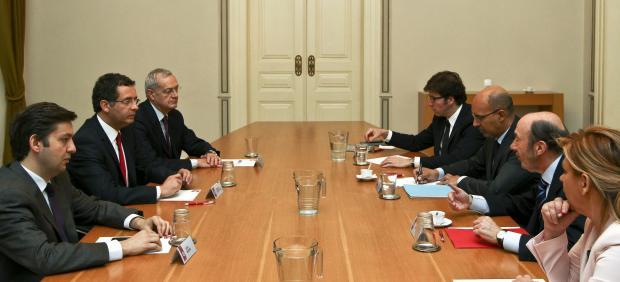 Reunión de los líderes socialistas en Lisboa