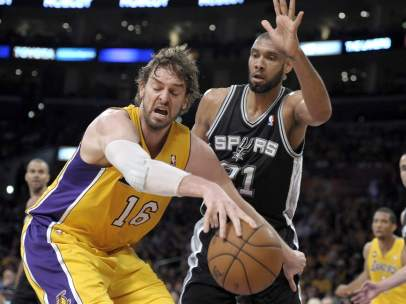 Los Angeles Lakers contra San Antonio Spurs