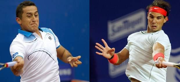 Nico Almagro y Rafa Nadal