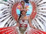 La representante de Indonesia en Miss Mundo 2012, María Selena.
