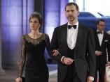 Cena de gala ofrecida por la reina Beatriz de Holanda