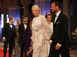 Haakon y Mette Marit
