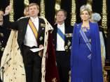 El rey Guillermo Alejandro y la reina Máxima de Holando