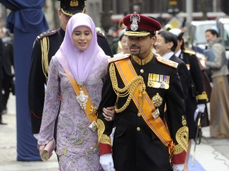 Los príncipes de Brunei