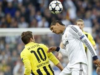 Gözte y Varane en el Madrid - Dortmund