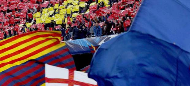 Mosaico en el Camp Nou
