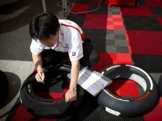 Preparativos del GP de Jerez