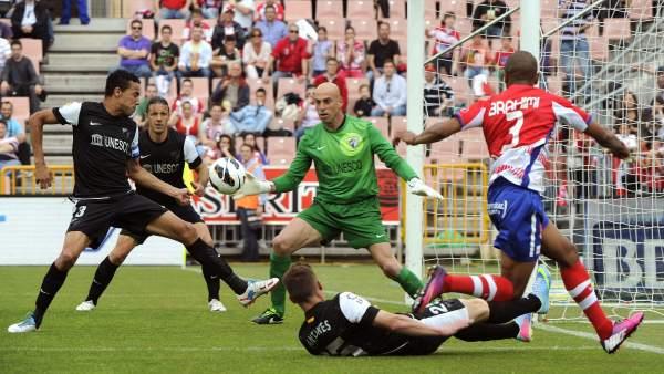 Ibrahimi marca un gol
