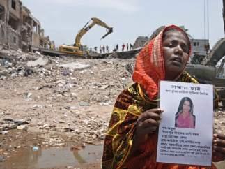 Búsqueda de desaparecidos en Bangladés