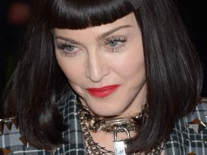 Madonna en la gala del punk en el Met