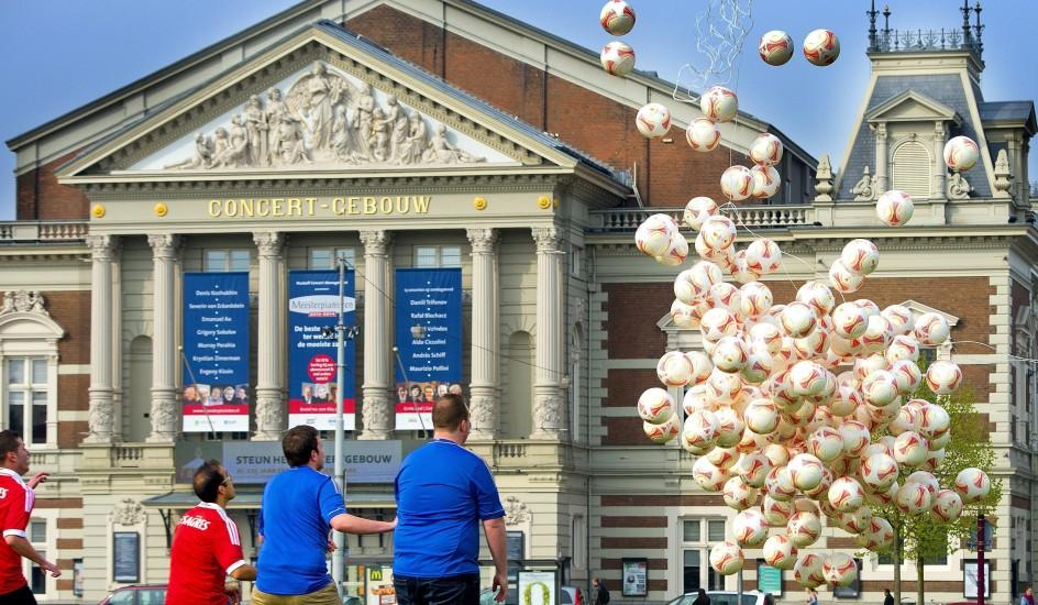 Ámsterdam se prepara para la Europa League