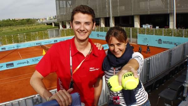 Carlos Hernández y Nayra Ramírez