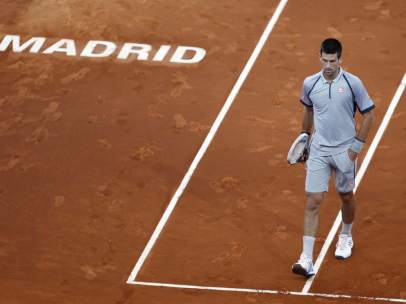 Novak Djokovic, en Madrid