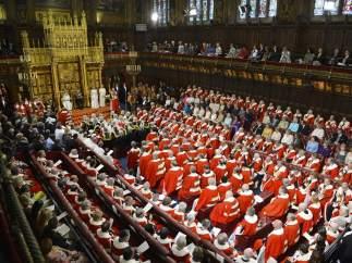 Vista del Parlamento de Londres en su ceremonia de apertura