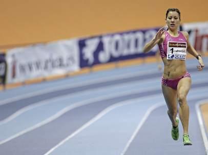 La atleta aragonesa Isabel Macías