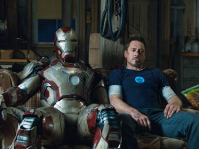 Robert Downey Jr. en 'Iron Man 3'