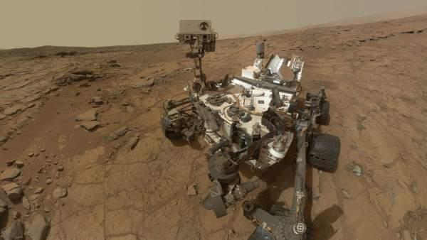 Vehículo de exploración marciana Curiosity