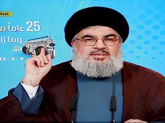 Líder de Hizbulá asegura que van a recibir armas de Siria