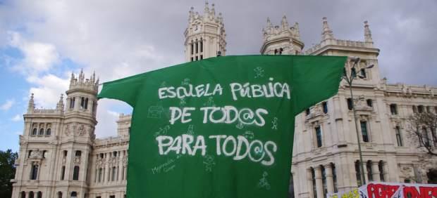 La 'marea verde' recorre Madrid