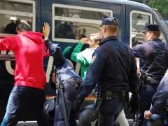 Estudiantes detenidos en Valencia