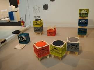 Caja - taburete