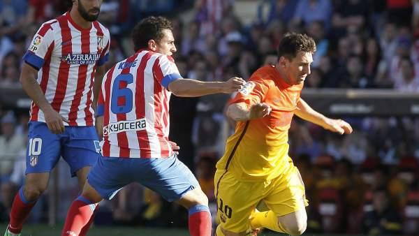 Arda, Koke y Messi