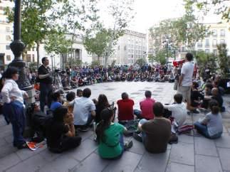 Asambleas tras la manifestación