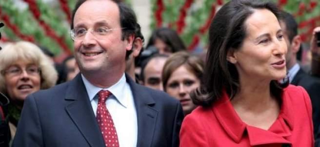 Ségolène Royal y François Hollande